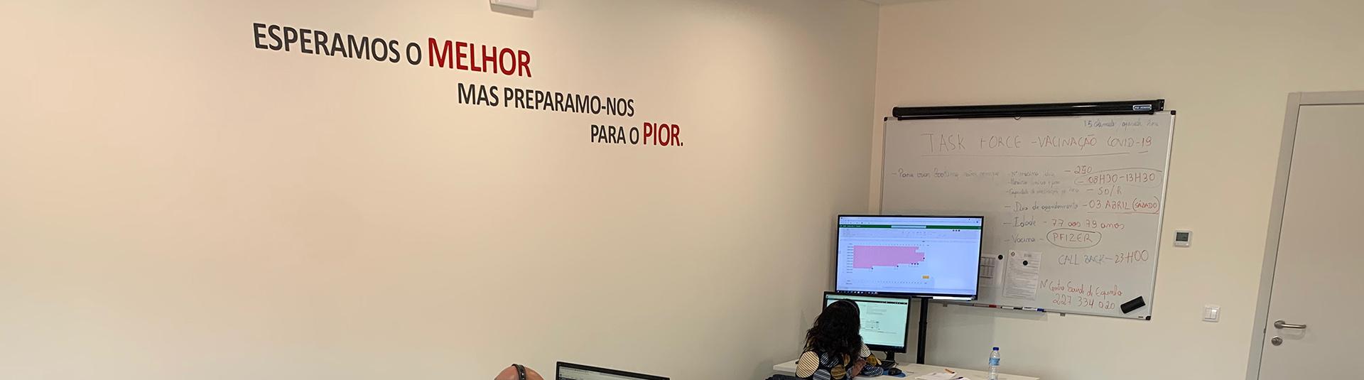 Município de Espinho ativou equipa de contactos para vacinação COVID em Espinho