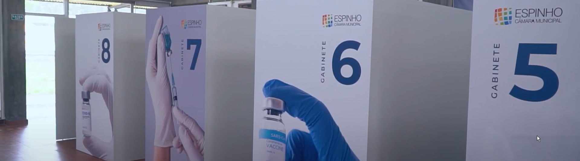 Novo Centro de Vacinação Covid de Espinho