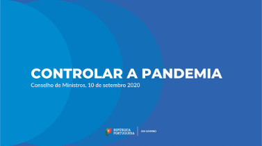 Controlo da pandemia