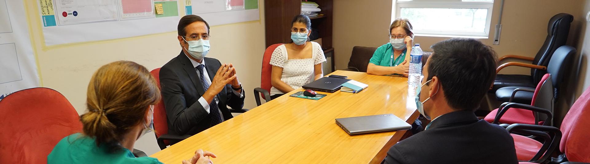 Visita à Unidade III do Centro Hospitalar Vila Nova De Gaia/Espinho